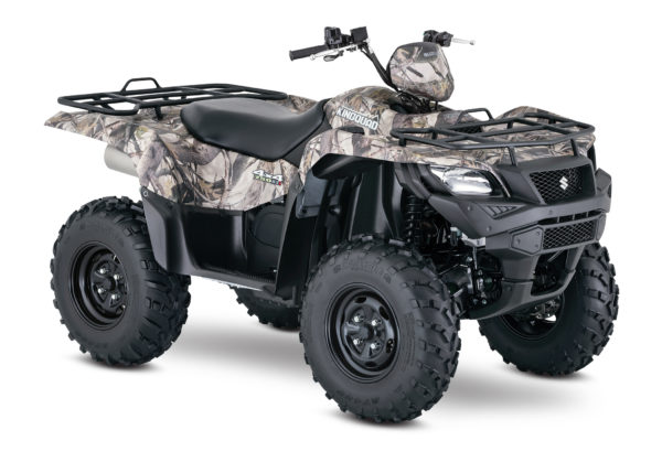 2017 Suzuki KingQuad 750AXi with power steering