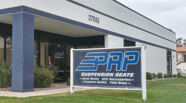 PRP Seats is based out of Temecula, California.