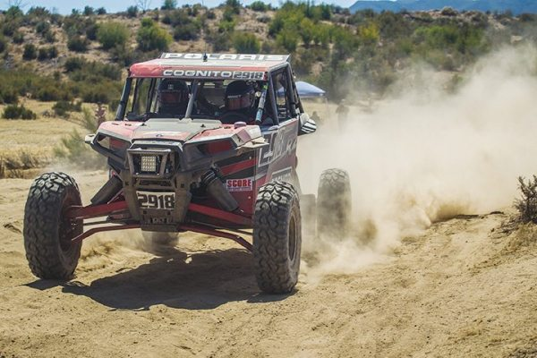Justin Lambert, in the No. 2918 Cognito Motorsports Polaris RZR XP 1000 EPS, had a strong showing at the Baja 500 in the Pro UTV F1 class. (Photo by UTVunderground.com)
