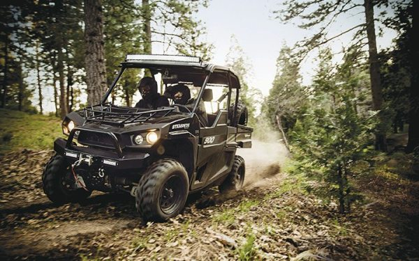 The Stampede 900 4x4, released May 1, is Bad Boy Off Road's first gas-powered side-by-side.