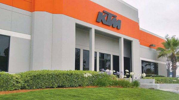KTM North America is headquartered in Murrieta, California.