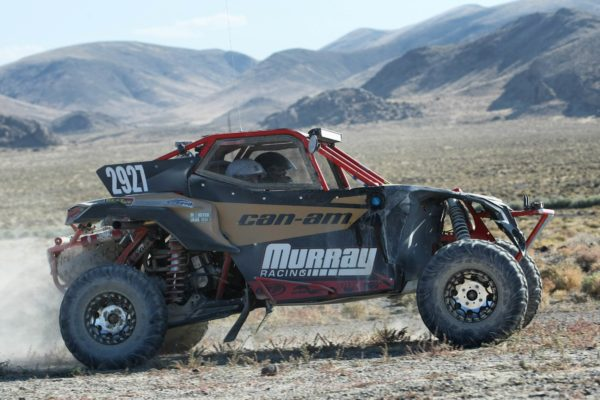 Jason Murray had to start at the back of the pack, but pushed the Can-Am / Murray Racing X3 Turbo hard over two days and 650 miles in the brutal desert to secure a victory for the new vehicle in its inaugural race.