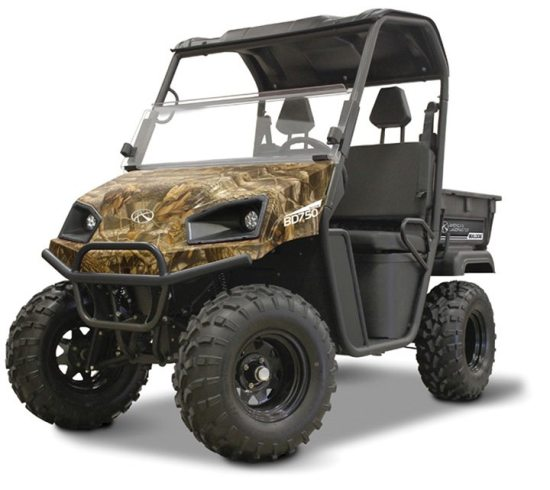 American LANDmaster UTVs have formed a new partnership with Realtree camo.
