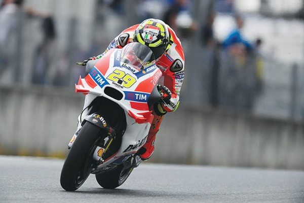 Unibat is one of the primary sponsors of the MotoGP Factory Ducati teams.