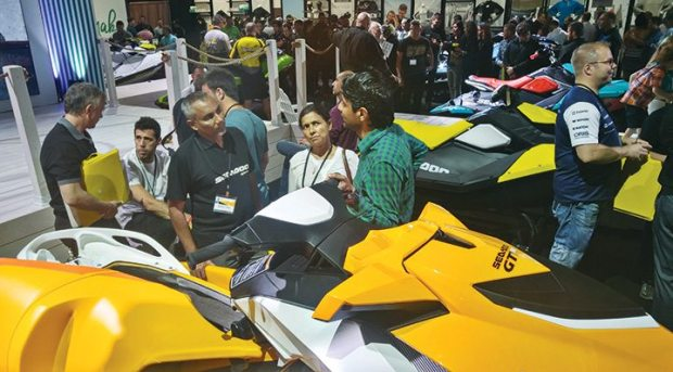 Sea-Doo unveiled the Spark Trixx as well as updates to other models.