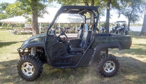ODES introduced its 2017 Comrade 500cc UTV at its dealer meeting near Dallas, Texas, in September.