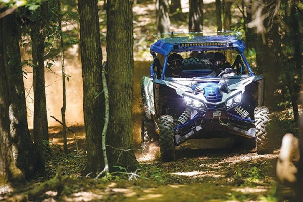 In tight quarters at Big Buck, home of the GNCC, the Yamaha YXZ1000R SS felt right at home. (Photo by Hoppenworld.com)