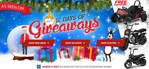 Past ellen 12 days of giveaways
