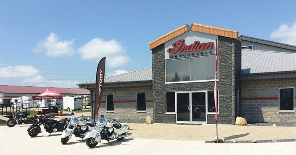 R/J Performance added its Indian line, Indian Motorcycle of Wapello County, in early 2015.
