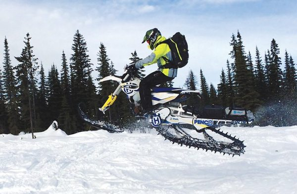 Snow bike-specific products have been added to Giant Loop's Snow line, drawing from Giant Loop's Moto products.