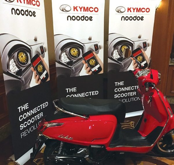 In the U.S. market, Noodoe will be available in 2018 on the Like 150i scooter, with a later model coming out in early 2019.