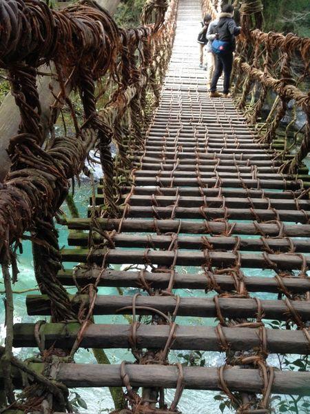 祖谷のかずら橋3