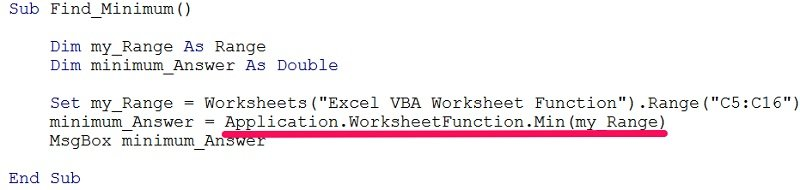 Vba Worksheet Functions 5 Ways To Easily Use Excel