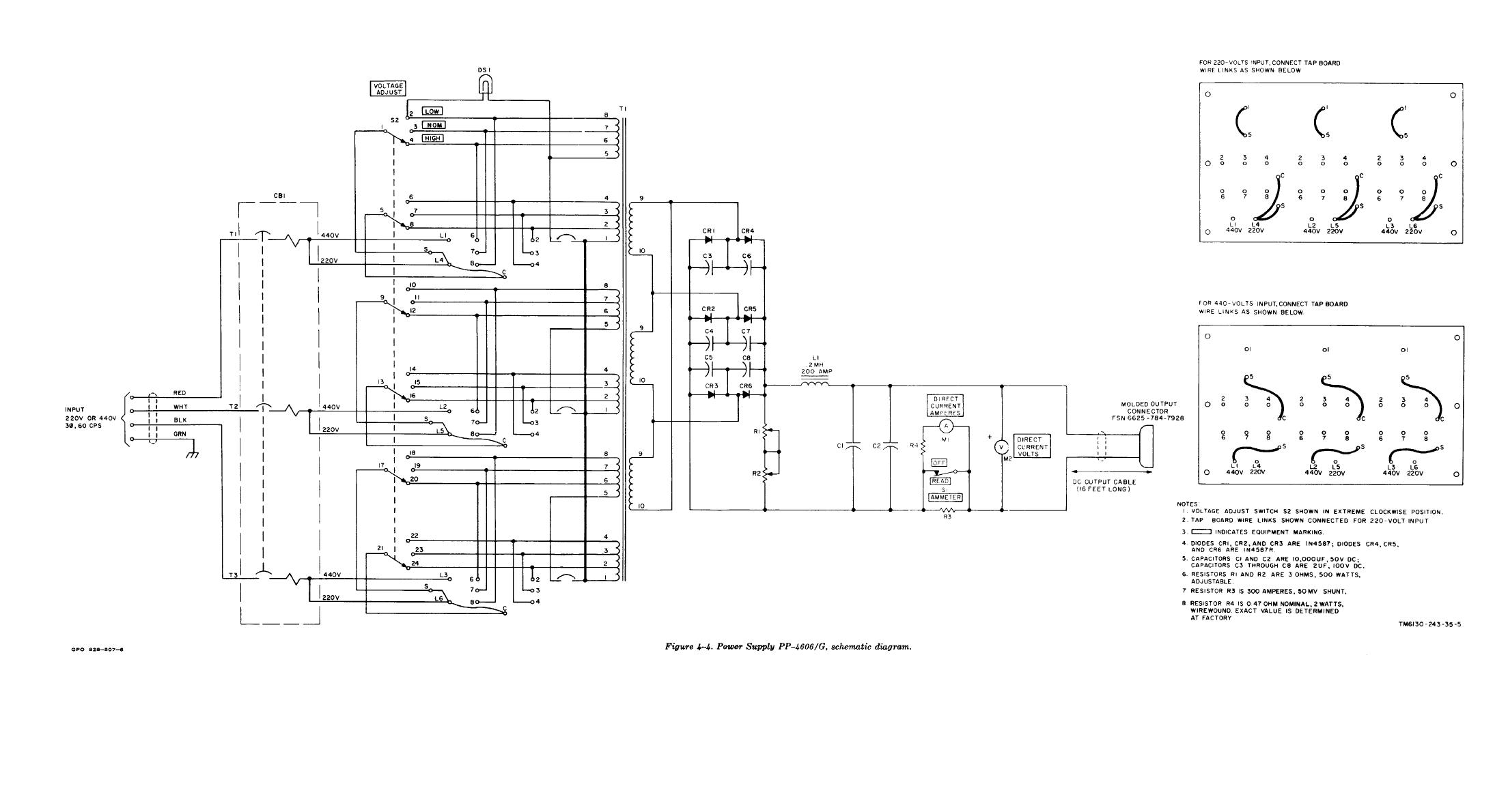 Figure 4 4 Power Supply Pp G Schematic Diagram