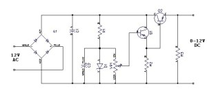 Power Supply 0 to 12 V