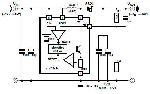 Step up DC DC Converter
