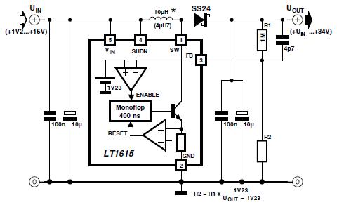 dc voltage doubler circuit 12v to 24v using lm2586 power supply rh powersupply33 com