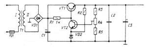 60V PBX power supply