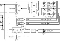 Power Supply for 1500 Watt Audio Power Amplifier