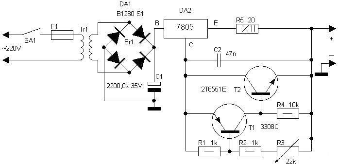 12v Battery Charger Circuit On Car Battery Charger Schematic Diagram