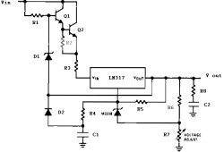 Precision high voltage regulator
