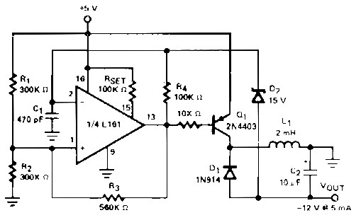 Regulated DC to DC Converter