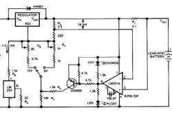 6/12 Volt Lead Acid Battery Charger