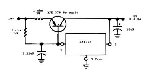 5 V 3 A regulator
