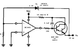 5V / 4A Regulator Circuit