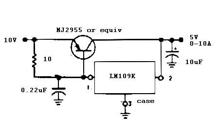 5 v 10 A regulator
