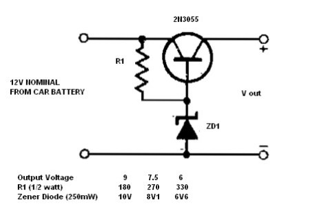 Simple Circuit Diagram Voltage - Wiring Diagrams List on