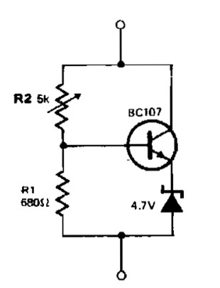 variable zener diode power supply circuits rh powersupply33 com Zener Diode Circuit How a Zener Diode Works