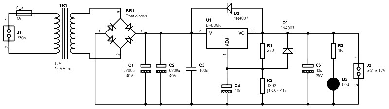 Single output power supply 12 V 5A based on an LM338?fit=800%2C225 single output power supply 12v 5a based on lm338 power supply  at alyssarenee.co