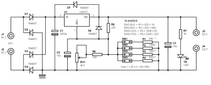 Dc To Ac Converter Circuit On Isolated 9v Power Supply