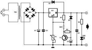 Single power supply with soft start