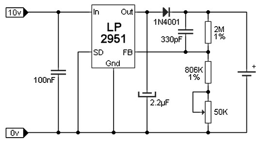Lithium Ion Li Ion Battery Charger Power Supply Circuits