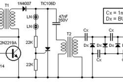 Converter 9V to 13.5kV