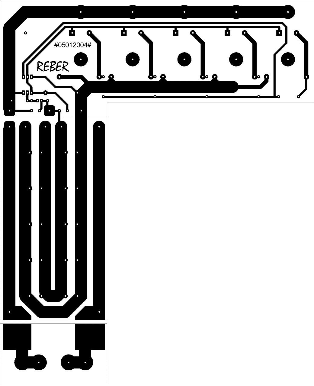 12V 20A pcb layout design