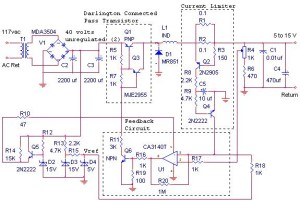 12V / 10A Switching Power Supply - Power Supply CircuitsPower Supply Circuits