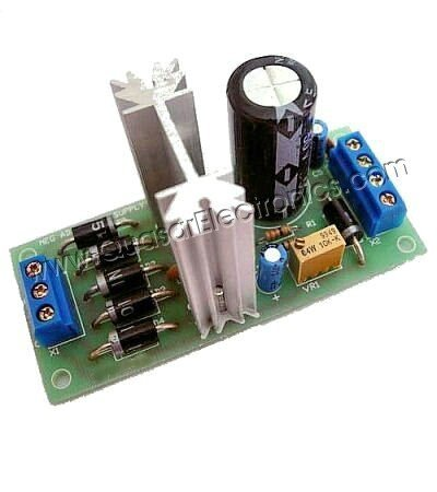 Kits - Negative Adjustable Power Supply Schematic Diagram