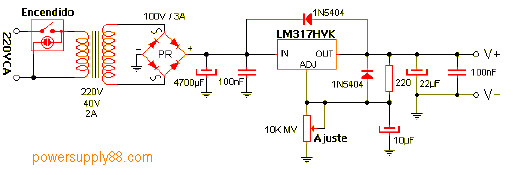 Regulated Dc Power Supply Circuit