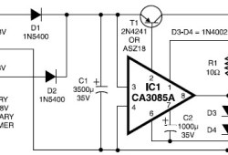 12V / 3A Regulated Power Supply