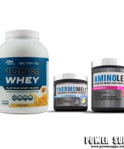 JD Nutraceuticals ALL ROUNDER THERMO STACK List Flavours in Notes Protein + BCAA + Thermomelt