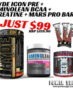 ProSupps Mr Hyde ICON + JDN Aminolean + Creatine + Mars Bars
