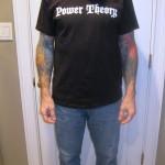 Power Theory Men's Logo Tee Front
