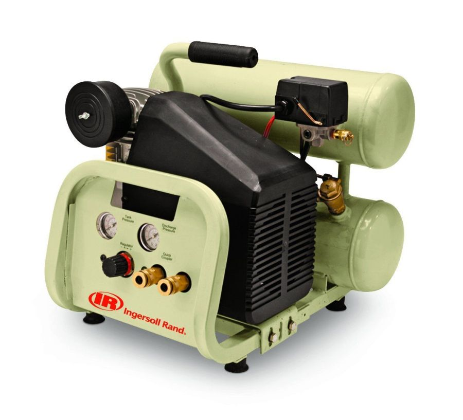 Ingersoll-Rand P1IU-A9 2 HP Twin-Stack Portable Air Compressor