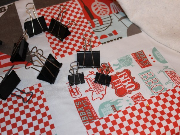 Binder Clips for Quilting