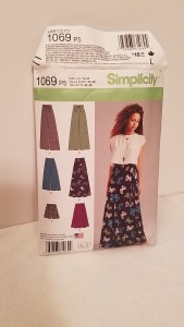 Simplicity Pattern 1069