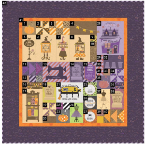 Candy Corn Quilting Guide 1