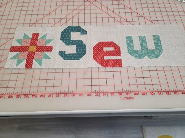 Sew Happy Sew Along Week 2